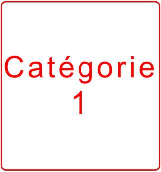 Catégorie 1