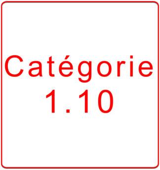 Catégorie 1.10