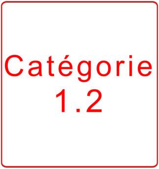 Catégorie 1.2