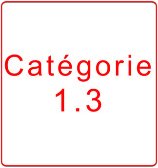 Catégorie 1.3