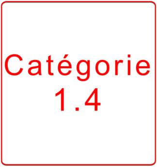 Catégorie 1.4