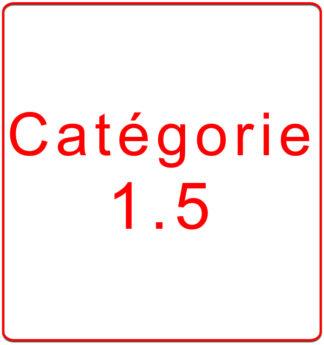 Catégorie 1.5