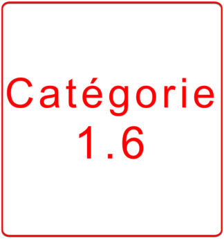 Catégorie 1.6