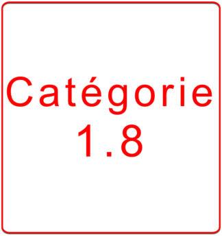 Catégorie 1.8