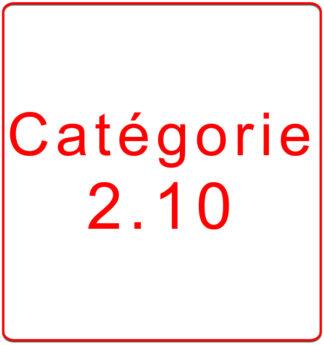 Catégorie 2.10