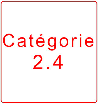 Catégorie 2.4