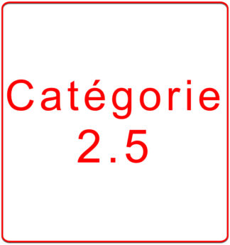 Catégorie 2.5