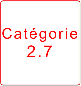 Catégorie 2.7